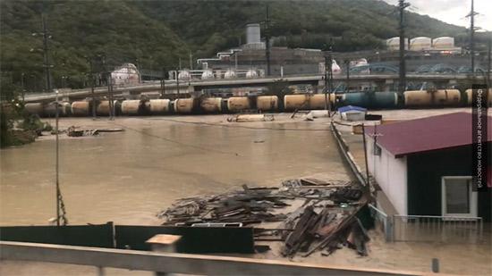 Наводнение в Туапсе октябрь 2018: видео, фото