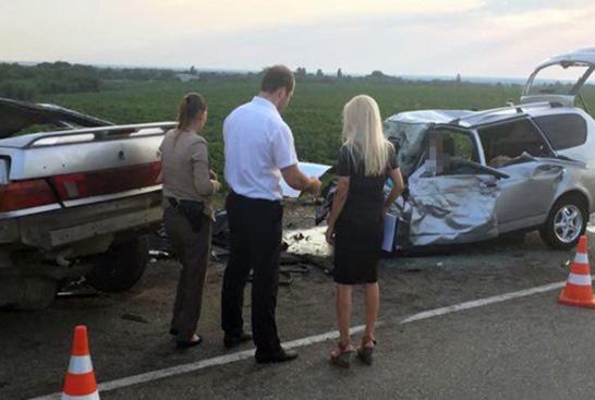 Авария, погибло 9 человек: видео, фото (6 июля под Краснодаром)