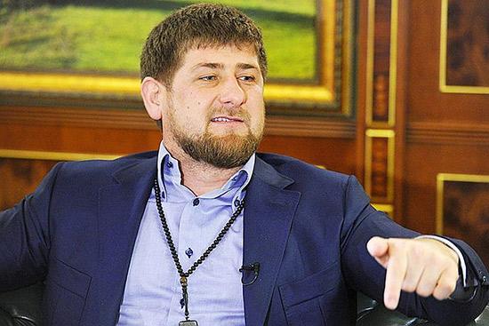 Кадыров и чеченец в метро: видео