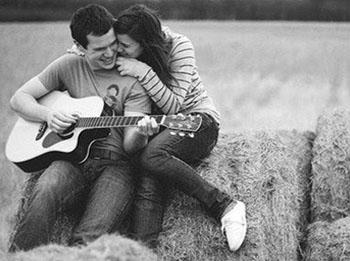 гитара девушка парень