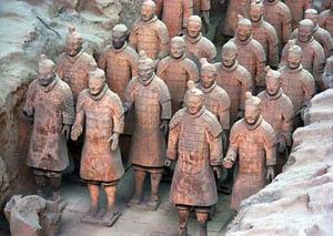 Терракотовая армия, Сиань.