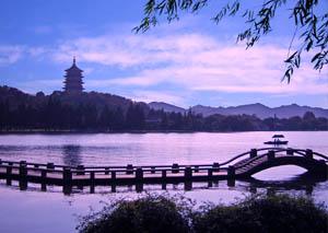 Западное озеро, Ханчжоу.