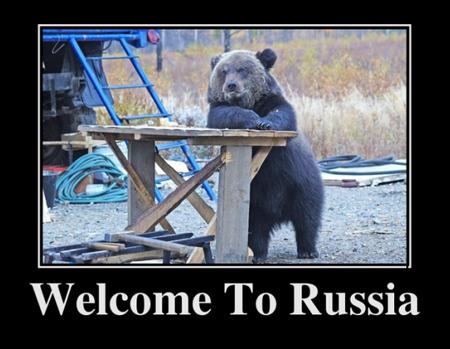 Демотиваторы про Россию и русских (41 фото)