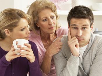Совместное проживание с родителями