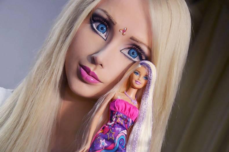 Девушки куклы (30 фото)