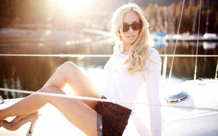 Симпатичные девушки блондинки (33 фото)