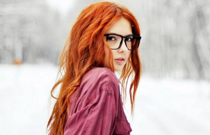 Симпатичные рыжие девушки (40 фото)