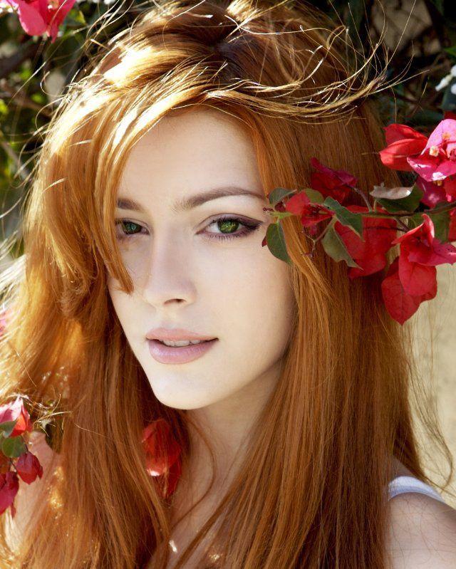 Симпатичные рыжие девушки 40 фото