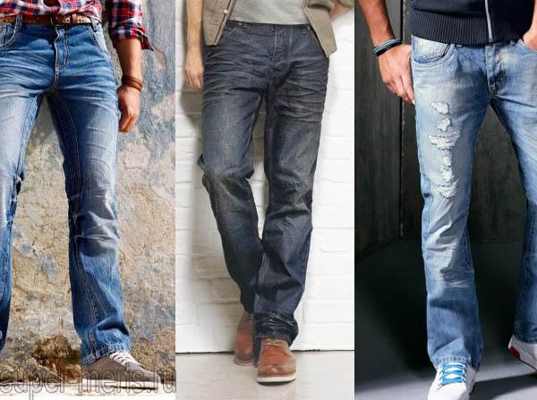 Как подобрать мужские джинсы?