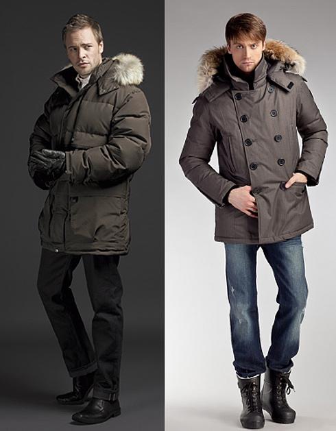 удлиненная куртка для мужчин