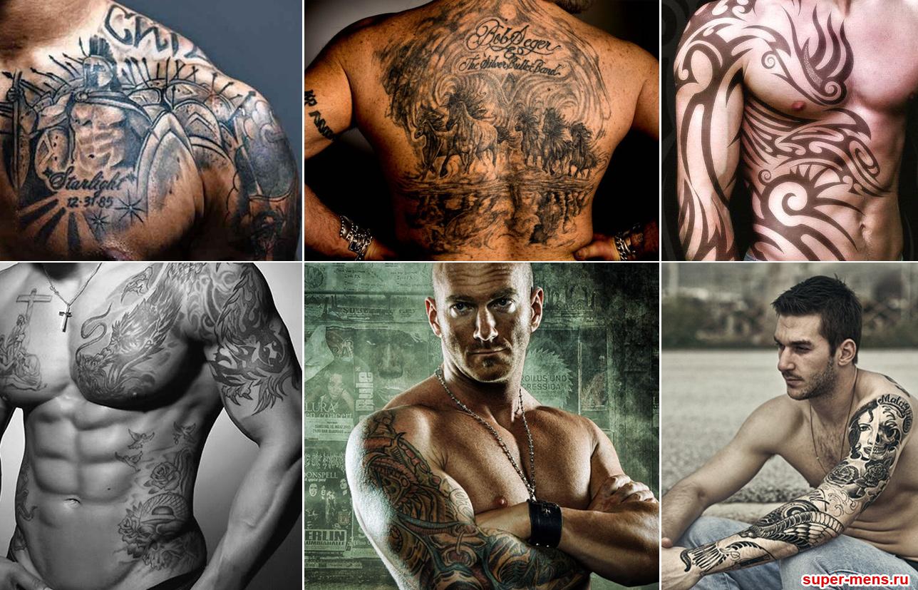 картинки тату рукава для мужчин