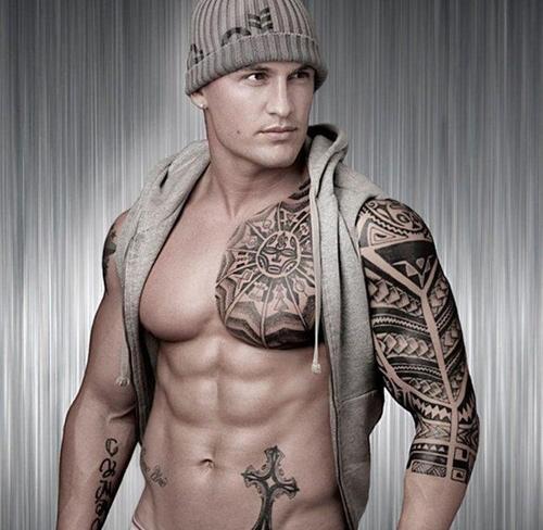 Фото классных мужских татуировок