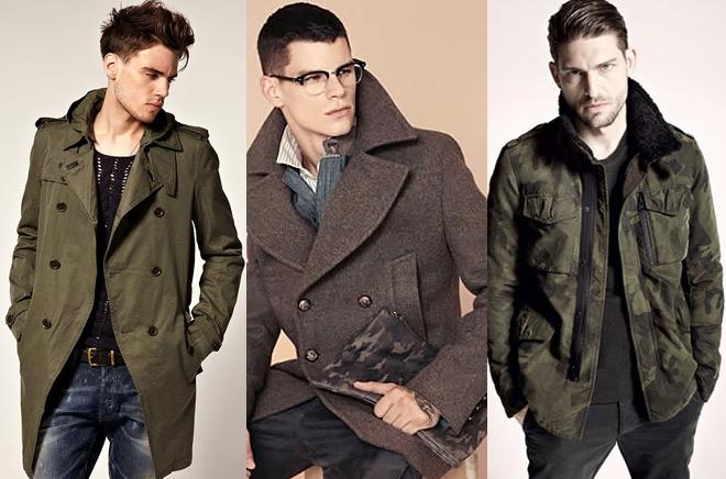 мужская мода милитари фото