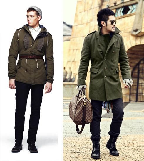 мужская одежда милитари фото