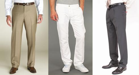 С чем одеть брюки
