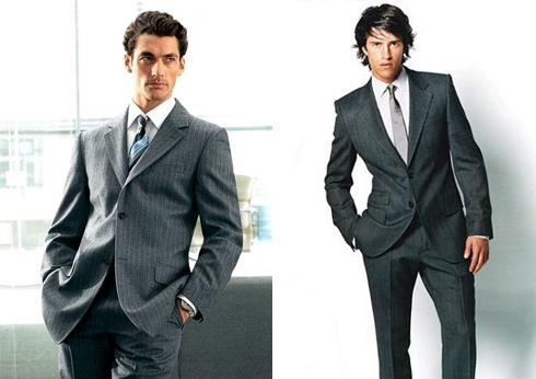деловой костюм мужчины