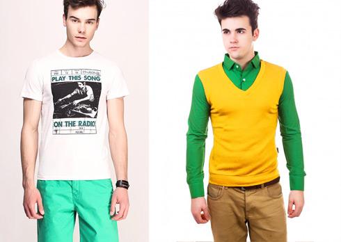 яркая мужская одежда