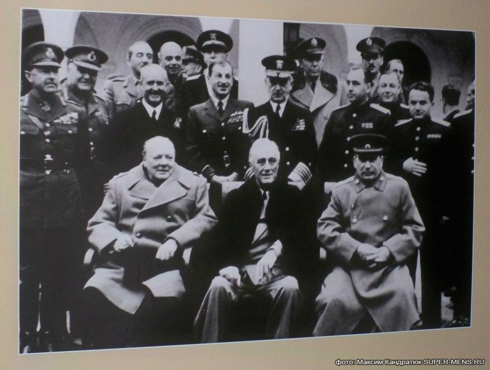 Сталин, фотография, Ливадийский дворец