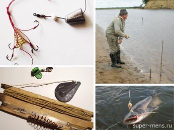 Как сделать закидушку для рыбалки?