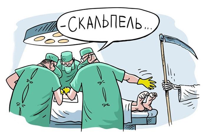 Анекдоты про врачей