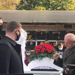 Похороны Тесака: видео, фото